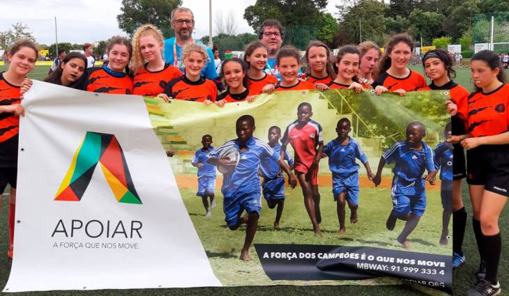 The spirit of rugby comes to Mozambique with a visit to the Portugal Rugby Youth Festival